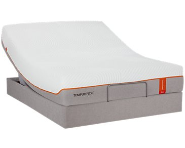 TEMPUR-Contour™ Elite TEMPUR-UP™ Adjustable Mattress Set