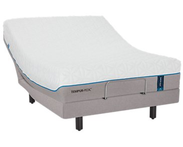TEMPUR-Cloud® Luxe TEMPUR-Ergo™ Premier Adjustable Mattress Set