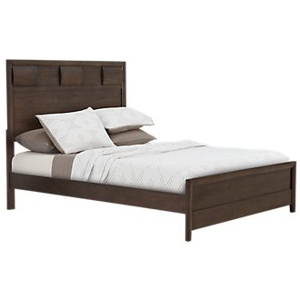 Belton Dark Tone Panel Bed