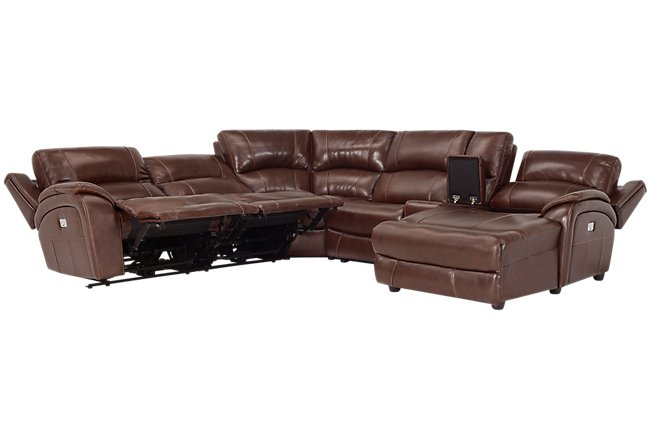 City Furniture   Living Room Furniture   Reclining Sectional ...