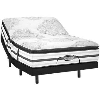 Beautyrest Platinum Gabriella Plush Innerspring Elevate Adjustable Mattress Set