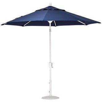Capri Dark Blue Umbrella Set