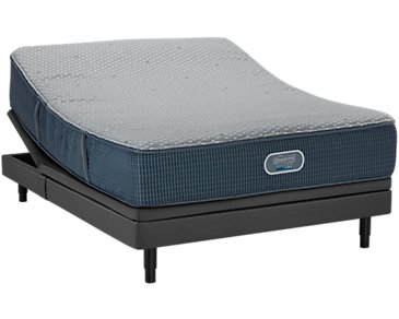 Beautyrest Silver Vista Trail Luxury Firm SmartMotion™ 2.0 Adjustable Mattress Set
