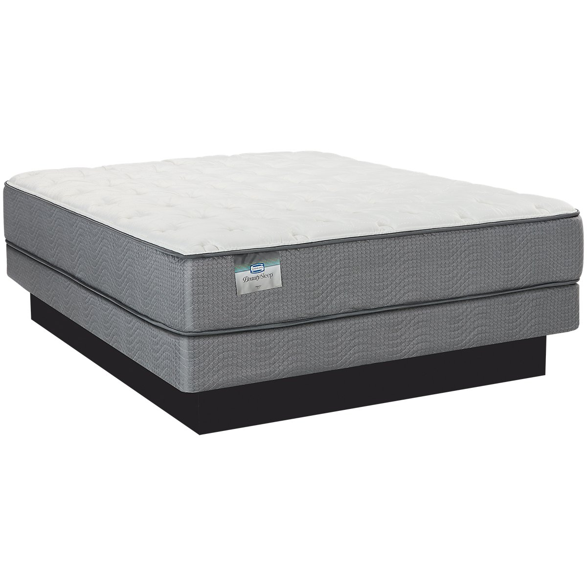 Beautysleep Impala Plush Low-Profile Mattress Set
