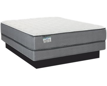 Impala Plush Low-Profile Mattress Set