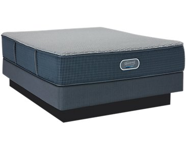 Beautyrest Silver Vista Trail Hybrid Luxury Firm Mattress Set