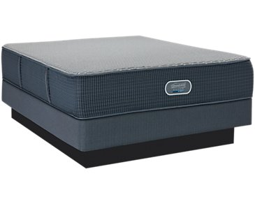 Beautyrest Silver Ventura Plush Hybrid Mattress Set