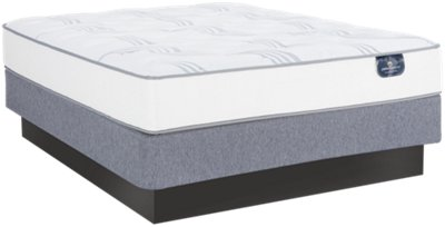 Serta Perfect Sleeper Cobbins Plush Mattress Set