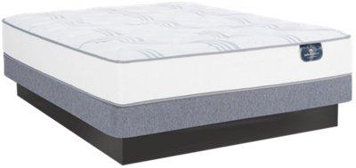 Serta Perfect Sleeper Cobbins Plush Low-Profile Mattress Set