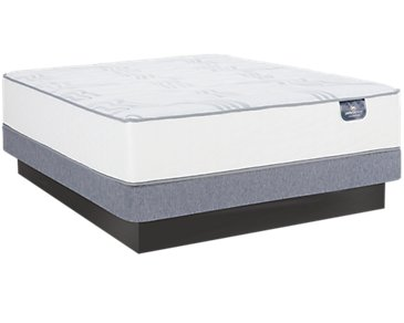 Serta Perfect Sleeper Blomquist Luxury Firm Low-Profile Mattress Set