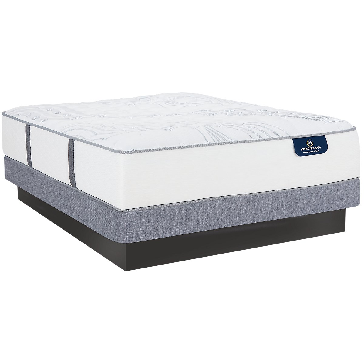Serta Perfect Sleeper Ridgley Luxury Firm Low-Profile Mattress Set