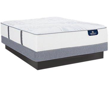 Serta Perfect Sleeper Ridgley Luxury Firm Low-Profile Mattress Set