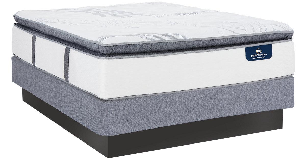 City Furniture Serta Perfect Sleeper Ridgley Plush Mattress Set