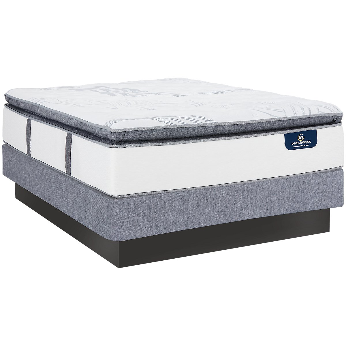 Serta Perfect Sleeper Ridgley Plush Mattress Set