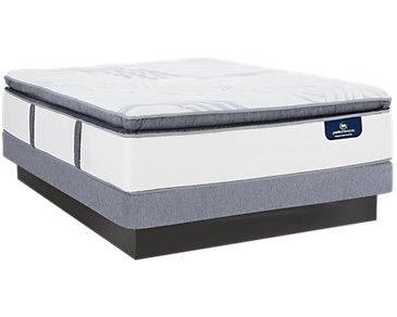 Serta Perfect Sleeper Ridgley Plush Low-Profile Mattress Set