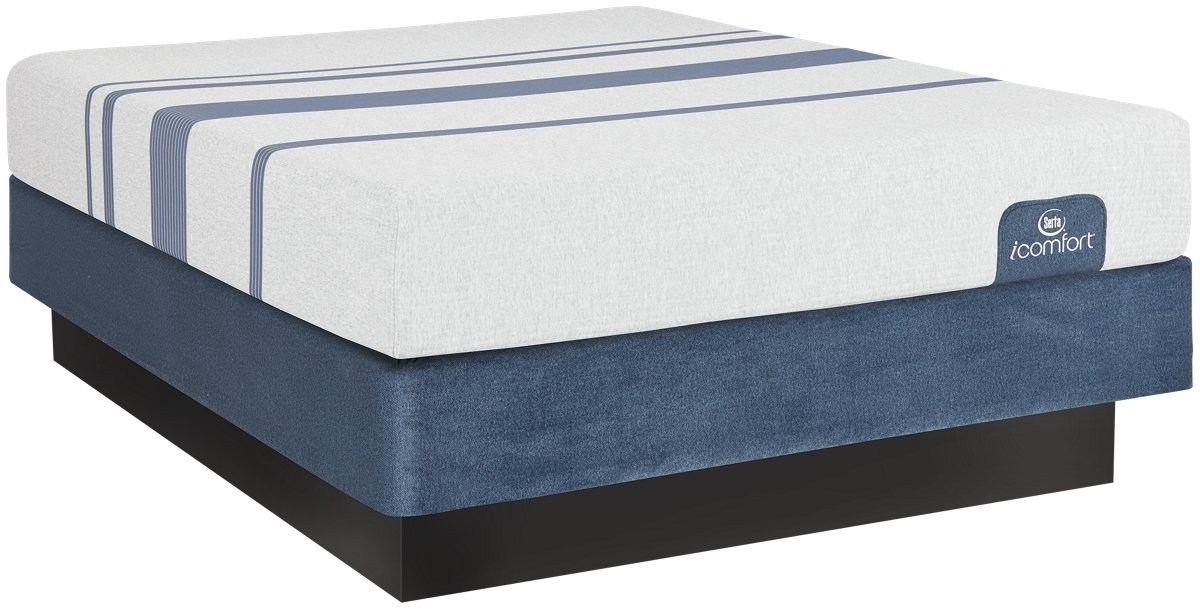 Serta iComfort Blue 100 Firm Memory Foam Mattress Set