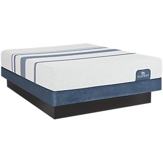 Serta iComfort Blue 100 Firm Low-Profile Mattress Set