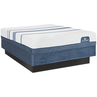 Serta iComfort Blue 300 Firm Mattress Set