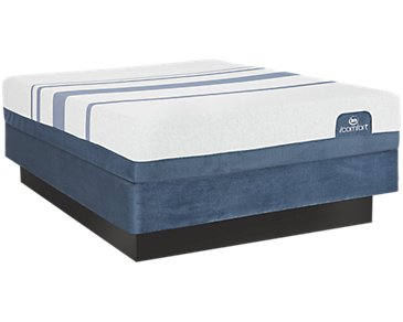Serta iComfort Blue 300 Firm Mattress Set