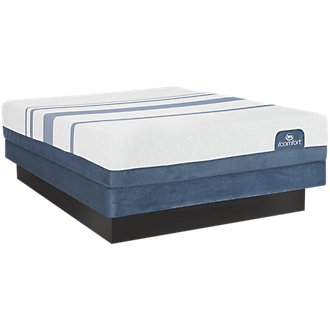 Serta iComfort Blue 300 Firm Low-Profile Mattress Set