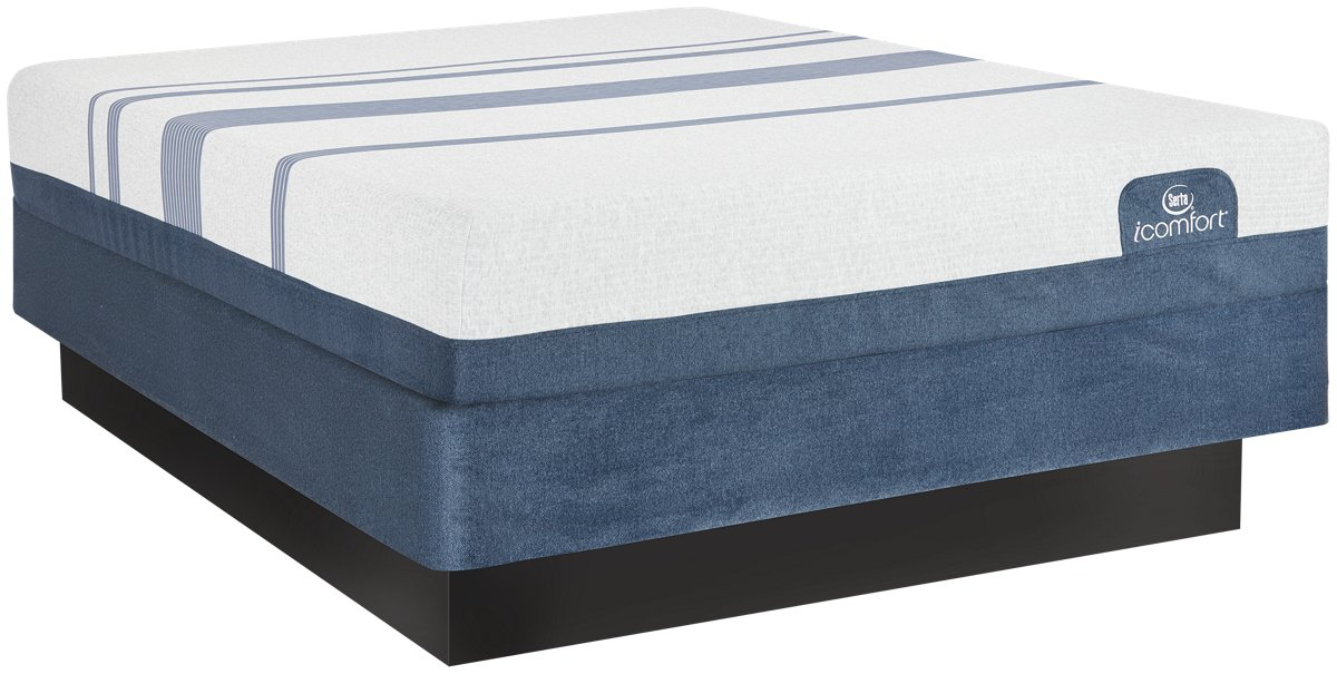 Serta iComfort Blue 500 Plush Memory Foam Mattress Set