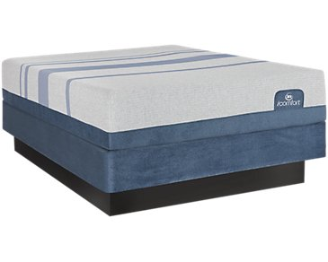Serta iComfort Blue Max 1000 Plush Mattress Set