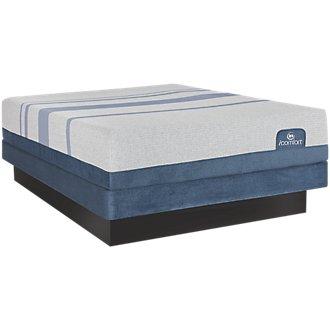 Serta iComfort Blue Max 1000 Plush Low-Profile Mattress Set