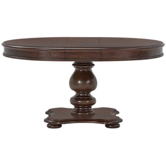 Savannah Dark Tone Round Table