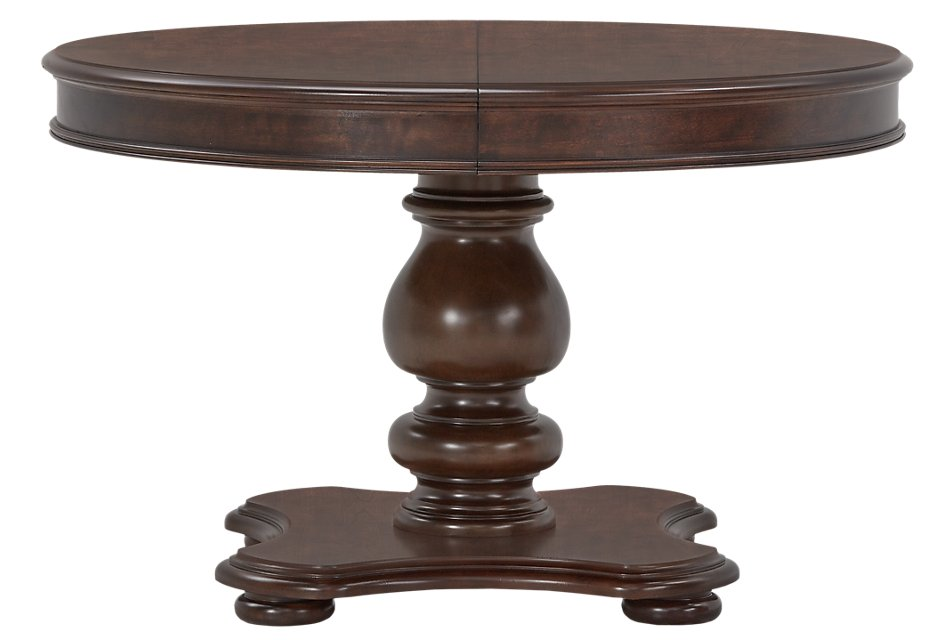 Savannah Dark Tone Wood Round Table