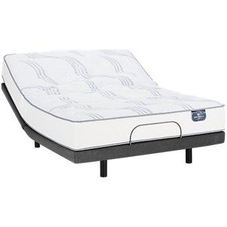 Serta Perfect Sleeper Cobbins Plush Elite Adjustable Mattress Set