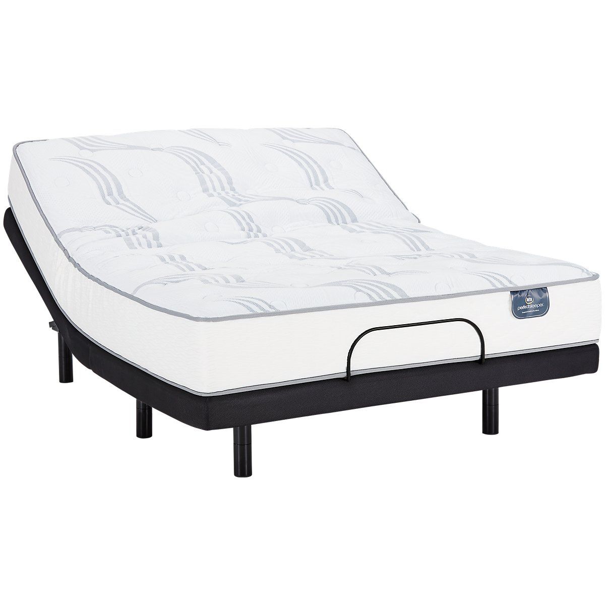 Serta Perfect Sleeper Cobbins Plush Elevate Adjustable Mattress Set