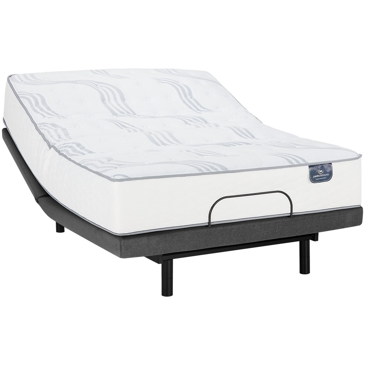 Serta Perfect Sleeper Blomquist Luxury Firm Select Adjustable Mattress Set