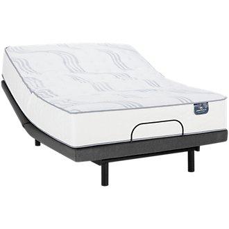 Serta Perfect Sleeper Blomquist Luxury Firm Deluxe Adjustable Mattress Set
