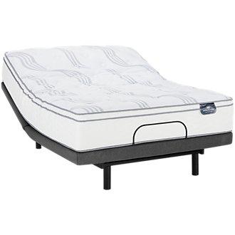 Serta Perfect Sleeper Blomquist Euro Top Deluxe Adjustable Mattress Set
