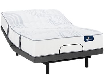 Serta Perfect Sleeper Ridgley Luxury Firm Deluxe Adjustable Mattress Set