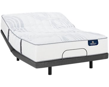 Serta Perfect Sleeper Ridgley Luxury Firm Elite Adjustable Mattress Set