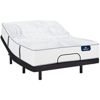 Serta Perfect Sleeper Ridgley Luxury Firm Elevate Adjustable Mattress Set