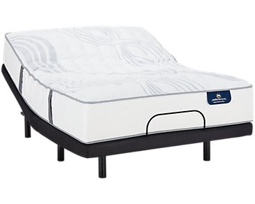 Serta Perfect Sleeper Ridgley Luxury Firm Elevate Adjustable Mattress Set