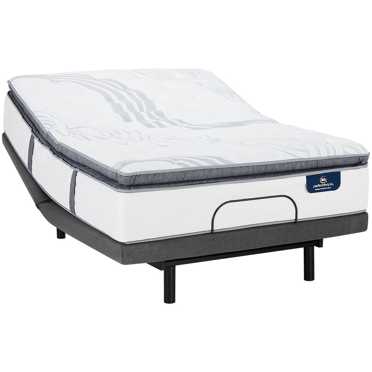 Serta Perfect Sleeper Ridgley Plush Select Adjustable Mattress Set
