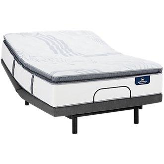 Serta Perfect Sleeper Ridgley Plush Select Adjustable Mattress Set