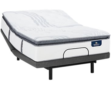 Serta Perfect Sleeper Ridgley Plush Deluxe Adjustable Mattress Set