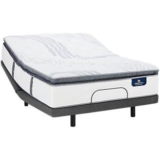 Serta Perfect Sleeper Ridgley Plush Elite Adjustable Mattress Set