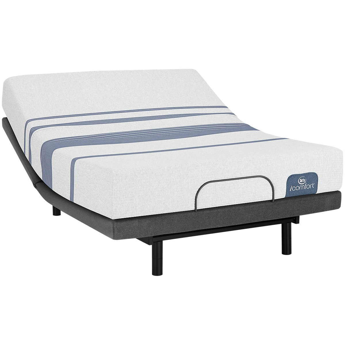 Serta iComfort Blue 100 Firm Select Adjustable Mattress Set
