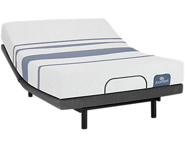 Serta iComfort Blue 100 Firm Deluxe Adjustable Mattress Set