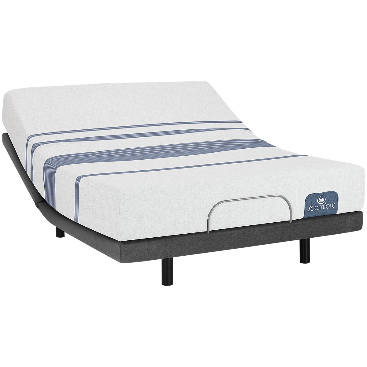 Serta iComfort Blue 100 Firm Elite Adjustable Mattress Set