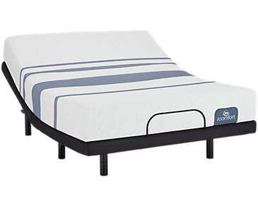 Serta iComfort Blue 100 Firm Elevate Adjustable Mattress Set