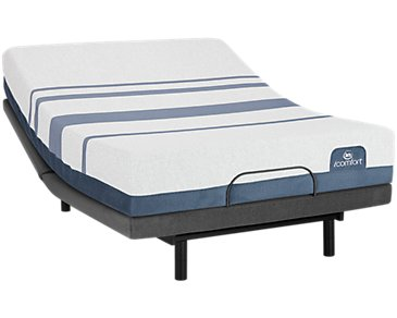 Serta iComfort Blue 300 Firm Select Adjustable Mattress Set