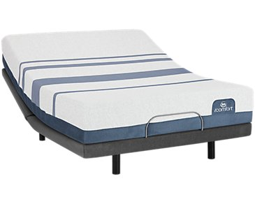 Serta iComfort Blue 300 Firm Elite Adjustable Mattress Set