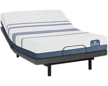 Serta iComfort Blue 500 Plush Select Adjustable Mattress Set