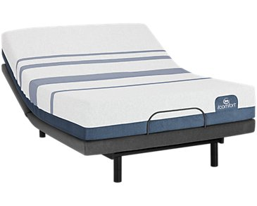 Serta iComfort Blue 500 Plush Deluxe Adjustable Mattress Set